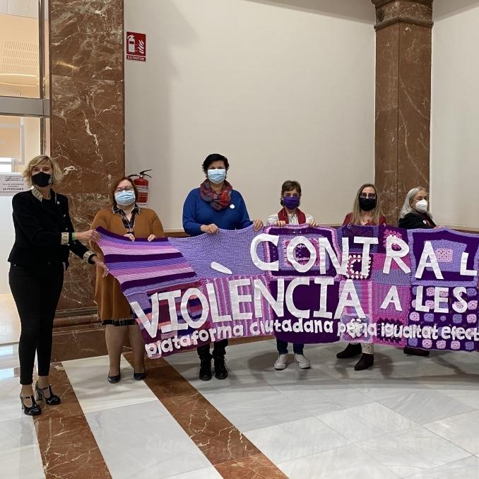 """La Diputació trasllada als instituts la commemoració del 25N """"per a atallar el problema des de la base"""""""