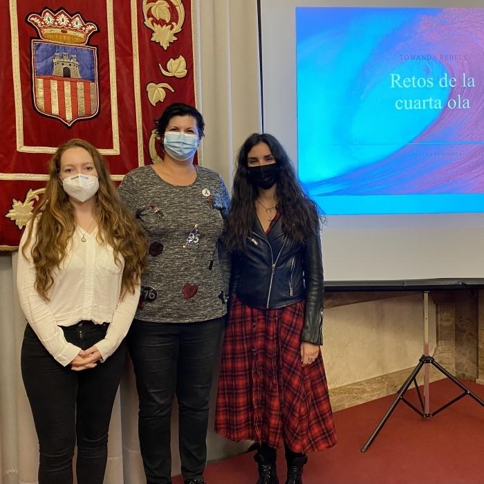 La Diputació parla 'sense embuts' sobre el futur del moviment feminista en el primer acte oficial del 25N